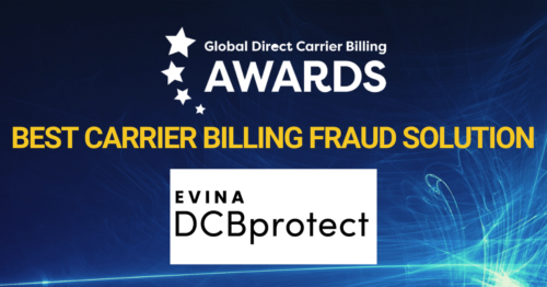 Evina lands global anti-fraud award
