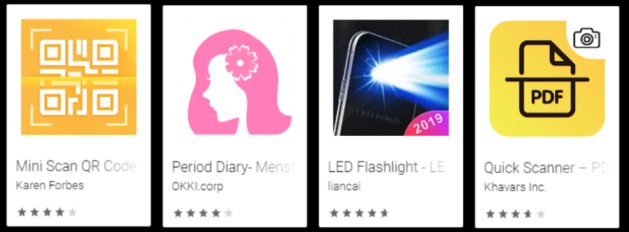 Evina's cybersecurity analysts found a new trojan family on Google play store.