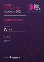 Juniper Research récompense la technologie anti fraude de pointe d'Evina en lui attribuant son prestigieux Digital Future Award